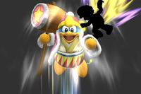 Rising Dedede in Super Smash Bros. for Wii U.