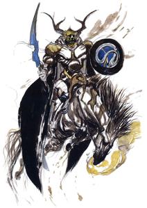 Odin artwork by Yoshitaka Amano.