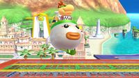Bowser Jr.'s second idle pose in Super Smash Bros. for Wii U.