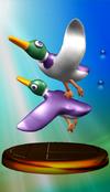 Ducks trophy from Super Smash Bros. Melee.