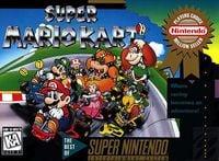 Box art of Super Mario Kart.