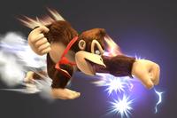 Lightning Punch in Super Smash Bros. for Wii U.