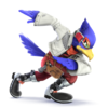 Falco as he appears in Super Smash Bros. 4.