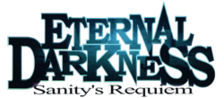 Logo from the game Eternal Darkness: Sanity's Requiem.