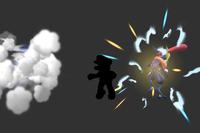 Speedy Shadow Sneak in Super Smash Bros. for Wii U.