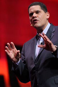 Reggie Fils-Aimé at the 2011 Game Developers Conference.
