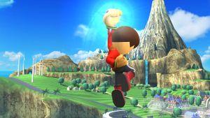 Ultimate Uppercut in Super Smash Bros. for Wii U.