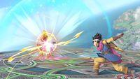 The Hero using Kaboom