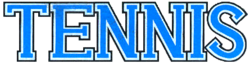 Logo for Tennis on the Game Boy.