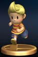 Lucas trophy from Super Smash Bros. Brawl.