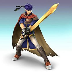 Ike's profile picture for Smash Bros. Brawl.