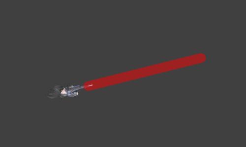 Hitbox visualization for Bayonetta's Heel Slide Bullet Arts