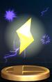 Lightning trophy from Super Smash Bros. Brawl.