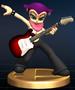Barbara trophy from Super Smash Bros. Brawl.