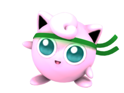 Headband Jigglypuff in Project M.