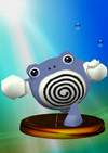 Poliwhirl trophy from Super Smash Bros. Melee.