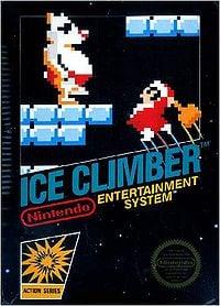 Box art of Ice Climber.