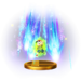 The PK Starstorm trophy from Super Smash Bros. for Wii U.