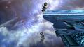 Luigi Down Tilt Meteor Smash Brawl.png