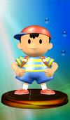 Ness trophy from Super Smash Bros. Melee.