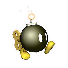 A better picture of a Bob-omb.