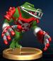 Kritter trophy from Super Smash Bros. Brawl.