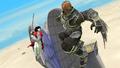 SSB4-WiiU - Takamaru and Ganondorf.png