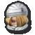 Sheik's stock icon in Super Smash Bros. for Wii U.
