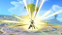 The Hero using Kamikazee