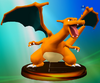 Charizard trophy from Super Smash Bros. Melee.