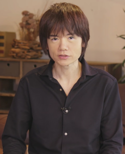 Masahiro Sakurai, former employee at HAL Laboratory, Inc. and founder of Sora Ltd.