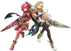 Pyra and Mythra in Ultimate.
