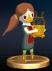 Medli trophy from Super Smash Bros. Brawl.