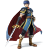 Marth as he appears in Super Smash Bros. 4.