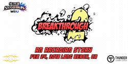 A banner for 2GG: Breakthrough 2.