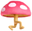 The Ramblin' Evil Mushroom as it appears in Smash Bros. Ultimate.