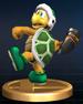 Hammer Bro trophy from Super Smash Bros. Brawl.