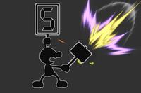 Chain Judge in Super Smash Bros. for Wii U.