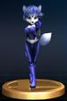 Krystal trophy from Super Smash Bros. Brawl.