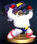 Mr. EAD trophy from Super Smash Bros. Brawl.