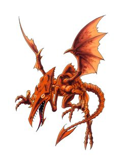 Official artwork of Ridley from Super Metroid, the basis of his appearance in most Super Smash Bros. games.