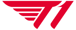 New logotype of T1 in use since 2020