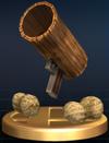 Peanut Popgun trophy from Super Smash Bros. Brawl.