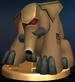 Turret Tusk trophy from Super Smash Bros. Brawl.