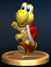 Koopa Troopa (Red) - Brawl Trophy.png