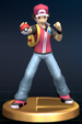 Pokémon Trainer trophy from Super Smash Bros. Brawl.