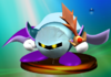 Meta Knight trophy from Super Smash Bros. Melee.