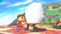 Pic of the day Nov. 13, 2013. Villager using a grapple on Link, which is stated to act as a grab.