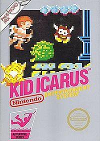 Box art of Kid Icarus.