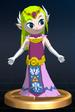 Princess Zelda trophy from Super Smash Bros. Brawl.